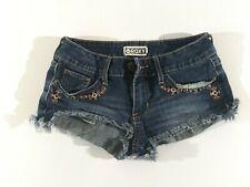 Roxy Womens Jean Shorts Size 0