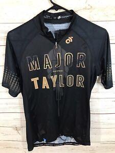 Rare! Champion System Major Taylor Black Lives Matter Jersey Men's Club Cut Med