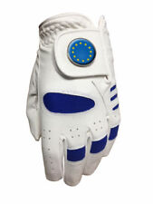 NEW JUNIOR ALL WEATHER GOLF GLOVE. EUROPE BALL MARKER. ALL SIZES AVAILABLE