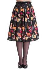 Below Knee Straight, Pencil 100% Cotton Skirts for Women