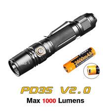 Fenix PD35 V2.0 Cree XP-L HI V3 LED 1000 Lumens Flashlight Torch + USB Battery
