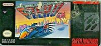 F-Zero SNES Super Nintendo Tested 1991 3D Racing Game Authentic Tested Works