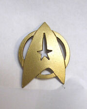 "Vintage Star Trek Uniform Insignia Large Pin 2""- Bronze Color (STJW2414)"