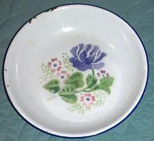 PIATTO SMALTATO IN FERRO made in China  anni 60