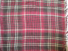 -Grand Foulard  RALPH LAUREN  50% laine  neuf  vintage scarf  110 x 120 cm