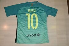 MESSI 10 FC BARCELONA NIKE  shirt trikot camiseta m