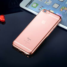 Ultra Slim Soft Silicone Crystal Clear TPU Case Cover For iPhone 5s SE 6 6s Plus