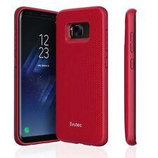 Evutec Aergo Ballistic Nylon custodia protettiva per Samsung Galaxy S8 ROSSO
