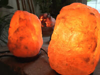 100% POSITIVE FB! Himalayan Hand Carved Natural Himalayan Salt Lamp 5-6lbs