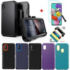 For Samsung Galaxy A10e A20 A20s A71 A51 Case With Belt Clip Screen Protector