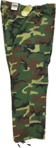 NEW Army-Style Woodland Camo BDU Cargo Pants by Royal Blue for Big & Tall Men