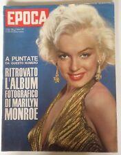 Marilyn Monroe Epoca 1963 Italy Magazine 10pg MM story inside Italian Rivista