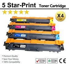 4x TN-251 TN255 Toners for Brother HL3150CDN HL3170CDW MFC9330CDW MFC9335CDW