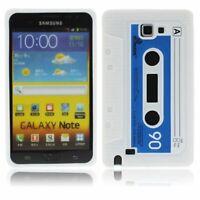 Étui de Portable Rétro Housse Etui Adhésif Coque Pour Samsung Galaxy Note i9220