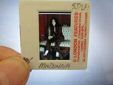Original Press Photo Slide Negative - Madonna - 1990's - D