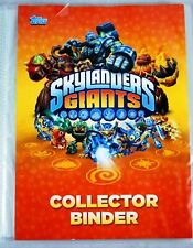 Skylanders Giants Collector Binder with over 100 Trading Cards.