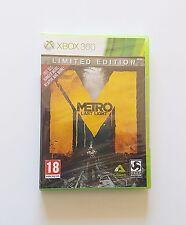 Juego Metro Last Light Limited Edition Xbox 360 ¡¡NUEVO PRECINTADO!! (Microsoft)