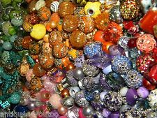 NEW Jesse James Beads 100/pcs Per lot BIG, BOLD, Beautiful, Beads MIXED RANDOM