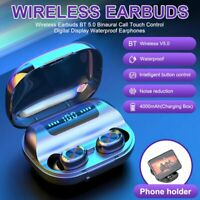 Wireless Bluetooth 5.0 Earbuds Headset TWS Stereo Earphone Noise Cancelling IPX7