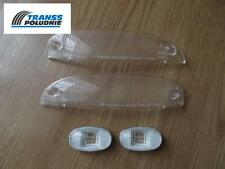 FRONT INDICATOR WHITE LENSES & SIDE INDICATOR SET DAEWOO MATIZ I 01.98-12.08