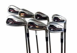 🥞 Srixon Z355 Iron Set 4-PW Regular Flex NS Pro Steel Shafts - NEW Grips