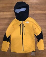 North Face L5 Dryvent Jacket Men's Small Summit Gold TNF Black Brand New NWT