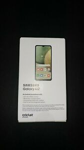 Samsung Galaxy A12 32GB Cricket Wireless Android Smart Phone