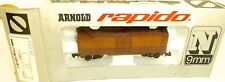 MILWAUKEE ROAD Carro merci marrone ARNOLD RAPIDO 0411m N 1:160 conf. orig. HU3 Å