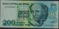 Brasil 200 reais uncirculate bank note