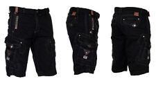 Geographical norway Hombre Cargo Pantalones Cortos Bermudas hasta Rodilla P17256