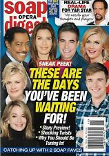 Soap Opera Digest Magazine November 13 2017 Days of Our Lives Eileen Davidson
