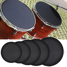 More details for 10pcs bass snare drum sound off mute silencer drumming rubber practice pad kit