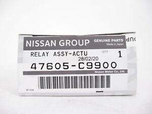 Genuine OEM Nissan Infiniti 47605-C9900 ABS Modulator Relay Assy