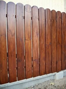 Zaunlatten 40 -110cm Holzzaun Holzleisten Balkonbrett Direkt Vom Hersteller