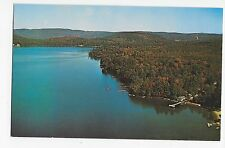 Spofford Lake NH Aerial View Rte 9 New Hampshire Vintage Postcard