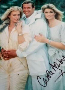 Carole Ashby signed A View To A Kill 1985 James  Bond Film  8 x 10 Colour  Photo