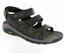 Men's 100% Leather Walking, Hiking, Trail Sports Sandals Shoes