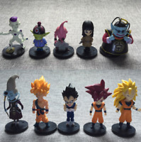 10pcs Dragon Ball Z 4 generation Anime Figure Toys Set Collection Playset Kids