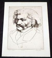 "1964 California Print ""Frederick Douglass"" by Thomas Cornell (1937-2012)(Mod)"