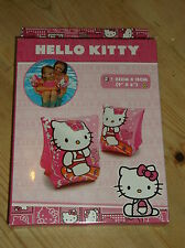 Hello Kitty Inflatable Swimming Armbands ONE PAIR 3-6yrs 18-30kg Pink Mix  BNWT