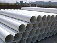 """PVC Round Duct Ventilation Extractor Fan Pipe Tube 4"""" 5"""" 6"""" 500mm 1m 2m  Plastic"""