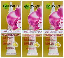 3 x 15ml Garnier Skin Naturals Vital Restore Eye Cream for Mature Eyes 50+