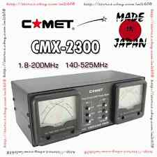 Comet Dual Meter Cmx-2300 Hf Vhf Uhf Cross Needle Watt V Swr Meter