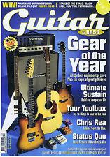 CHRIS REA / STATUS QUO  Guitar & Bass magazine Winter Special 2005