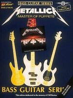 Metallica: Master of Puppets: For Bass Guitar & Vocal by Cherry Lane Music Co...