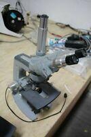 AO American Optical Microscope W/ Trinocular & 4 Objectives