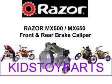 RAZOR YELLOW MX650 Dirt Rocket Brake Caliper W/PADS