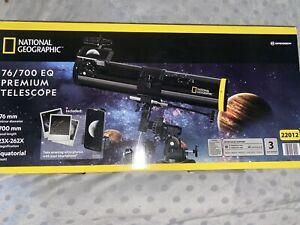 National Geographic 76 / 700 EQ Premium Telescope