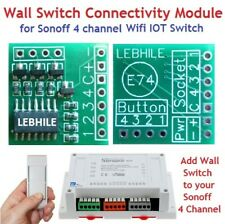 E74 Wall Switch Connectivity Module for Sonoff 4Ch / R2 / Pro Wifi IOT Switch ..