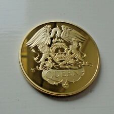 Queen 24ct Gold Plated Coin - Freddie Mercury
